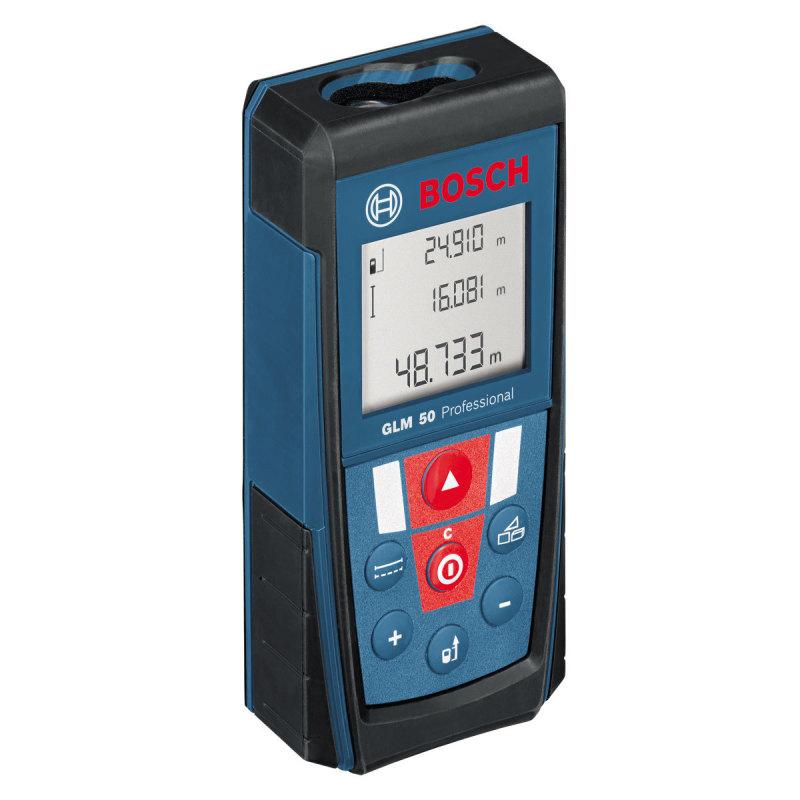 Máy đo khoảng cách lazer Bosch GLM 50 (Xanh phối đen)