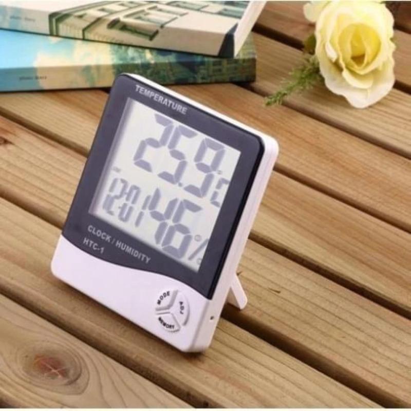 Bảng giá Mua Máy Đo Nhiệt Độ Độ Ẩm Không Khí Trong Phòng HTC-1