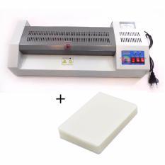 Máy ép plastic YT 320 (A3) + 1 Xấp giấy ép Plastic A4 (80 Mic)