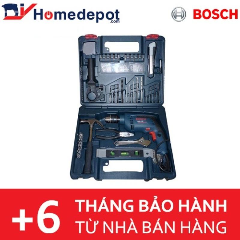 Máy khoan Bosch GSB 13 RE Set kèm bộ dụng cụ 100 chi tiết