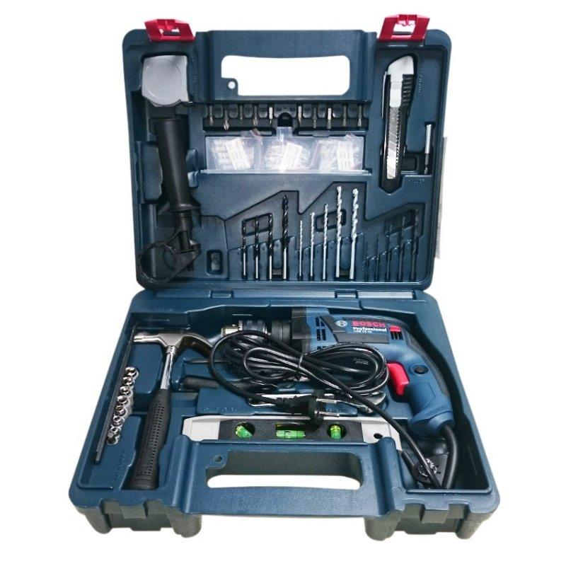 Máy khoan Bosch GSB 13 RE Tặng kèm Bộ dụng cụ 100 chi tiết