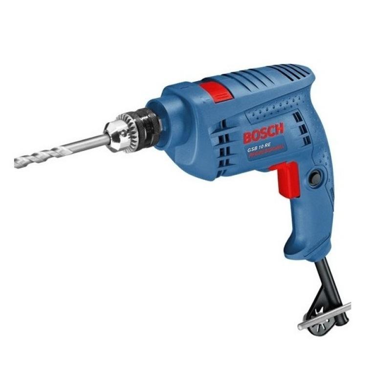 Máy khoan động lực Bosch GSB 10 RE Professional (Xanh)