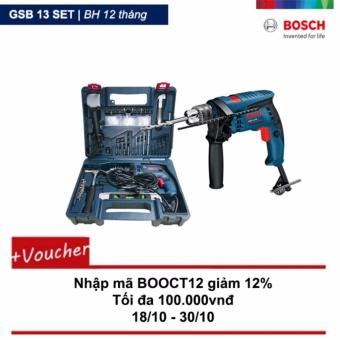 Máy khoan động lực Bosch GSB 13 Re set và Bộ 100 chi tiết - 8062101 , BO156HLAA28Y29VNAMZ-3846410 , 224_BO156HLAA28Y29VNAMZ-3846410 , 2649000 , May-khoan-dong-luc-Bosch-GSB-13-Re-set-va-Bo-100-chi-tiet-224_BO156HLAA28Y29VNAMZ-3846410 , lazada.vn , Máy khoan động lực Bosch GSB 13 Re set và Bộ 100 chi tiết