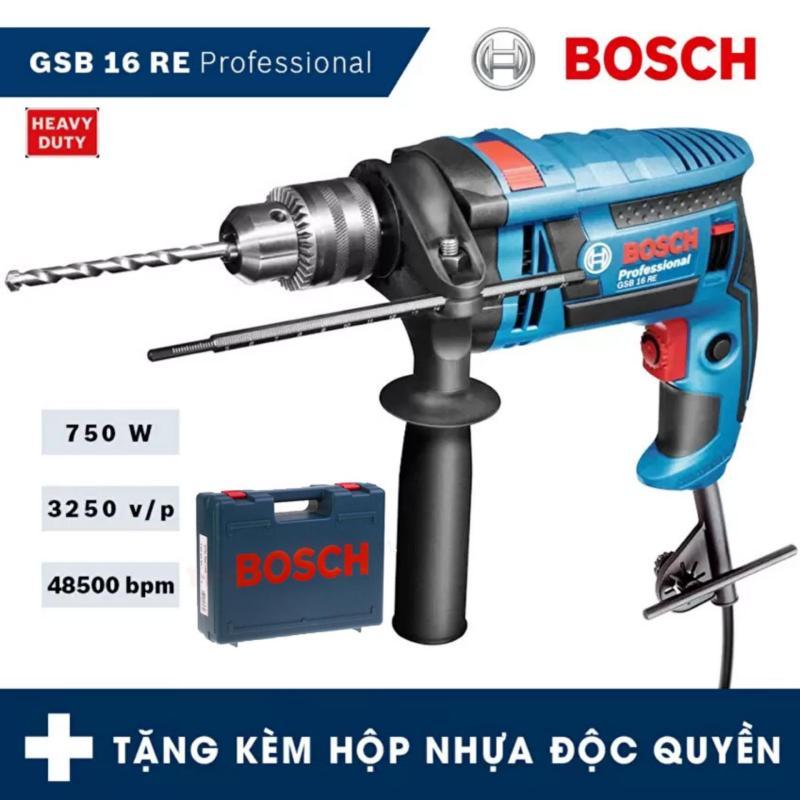 Máy khoan động lực Bosch GSB 16 RE Professional - HEAVY DUTY (750W) - Hãng phân phối chính thức