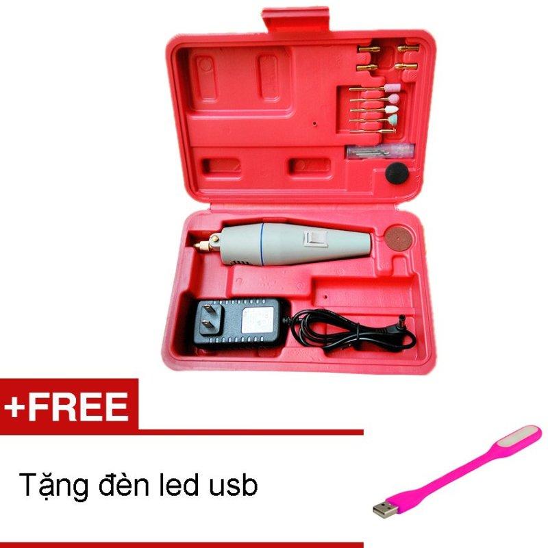 Máy khoan mài mini đa năng Daiduong +Tặng đèn led usb