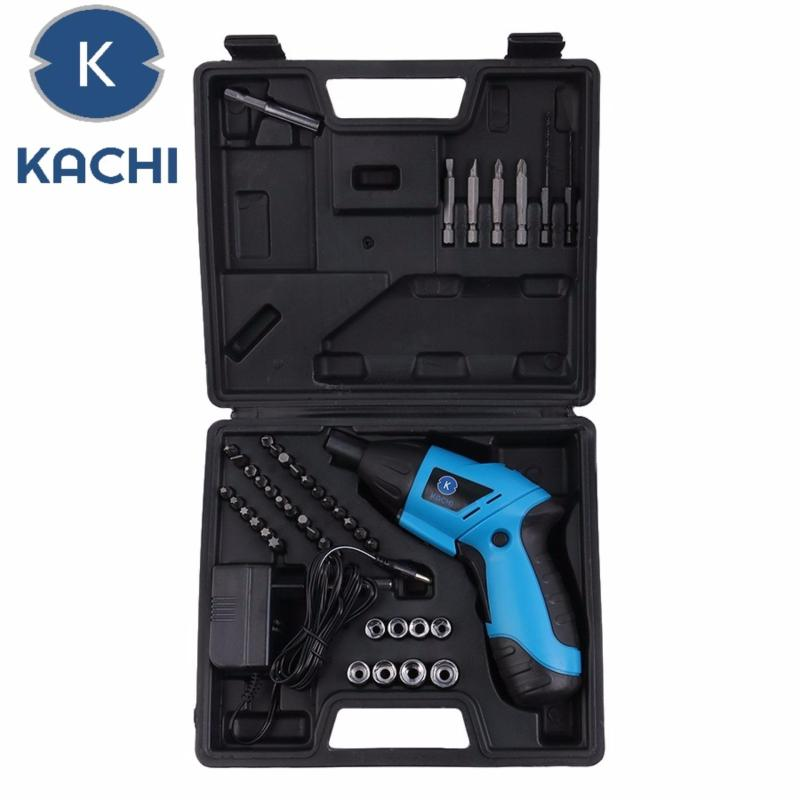 Máy khoan vặn vít dùng pin 45 chi tiết KACHI - Kachi Việt Nam phân phối