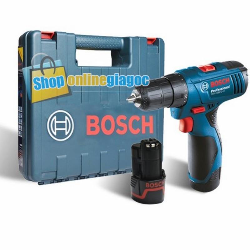 Máy khoan vặn vít dùng pin Bosch TSR 1080-2-LI