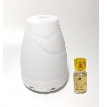 Máy khuếch tán tinh dầu cộng 10ml tinh dầu oải hương Ngọc Tuyết