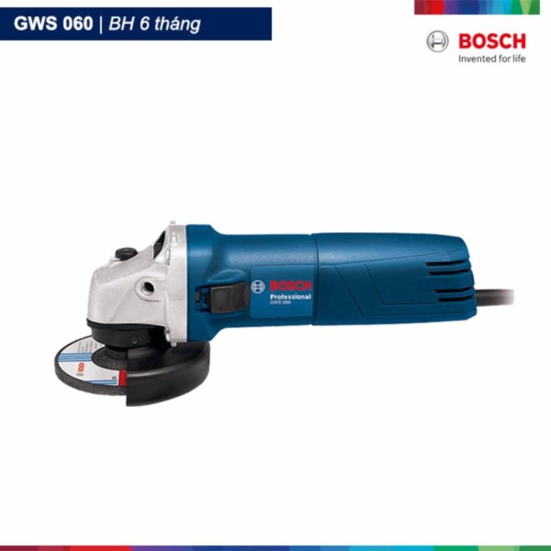 Máy mài góc Bosch GWS 060 Professional (Xanh)