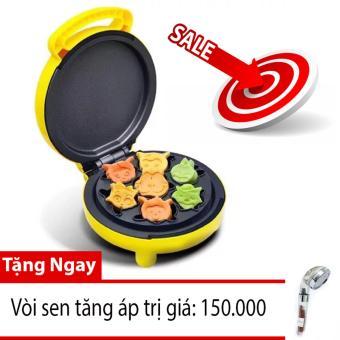 Máy nướng bánh đa năng chiyoda Model: CE 102( màu kem)+tặng kèm vòi sen tăng áp trị giá 150.000đ