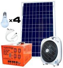 Máy phát điện năng lượng mặt trời SolarV SV COMBO-35S (Cam)