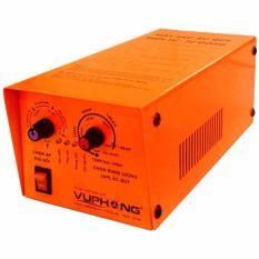 Máy sạc (nạp) ắc quy điện tử - tự động 3 chế độ 5AH->140AH (Cam)