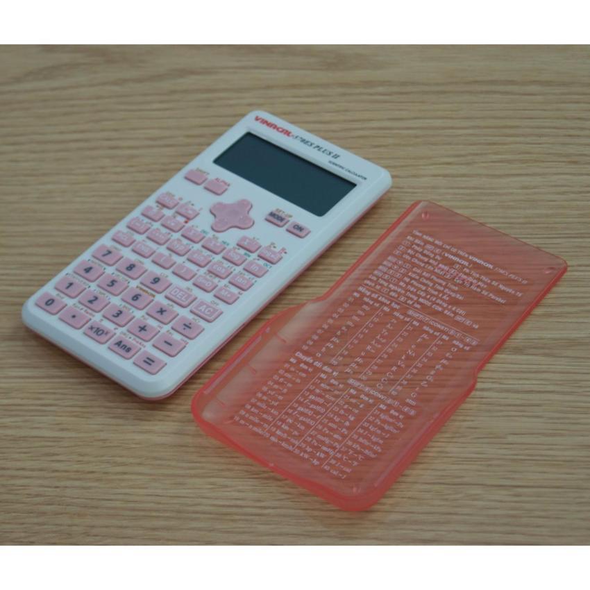 Máy tính Vinacal 570 Es Plus 2 - Màu hồng