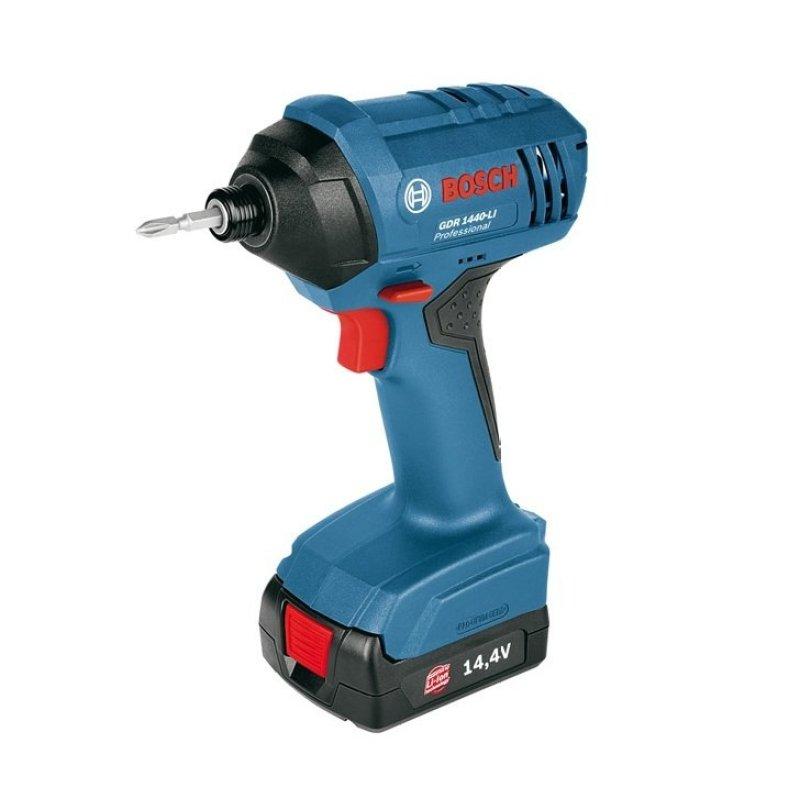 Máy vặn vít động lực dùng pin Bosch GDR 1440-LI Professional (Xanh)