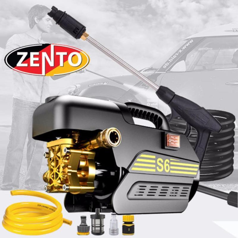 Máy xịt rửa xe áp lực cao  Zento ZN-S6 1800W ( Có súng dài )