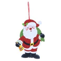 Đánh Giá Merry Christmas Letters Snowman Santa Claus Cây Giáng sinh treo (Multicolor)  crystalawaking