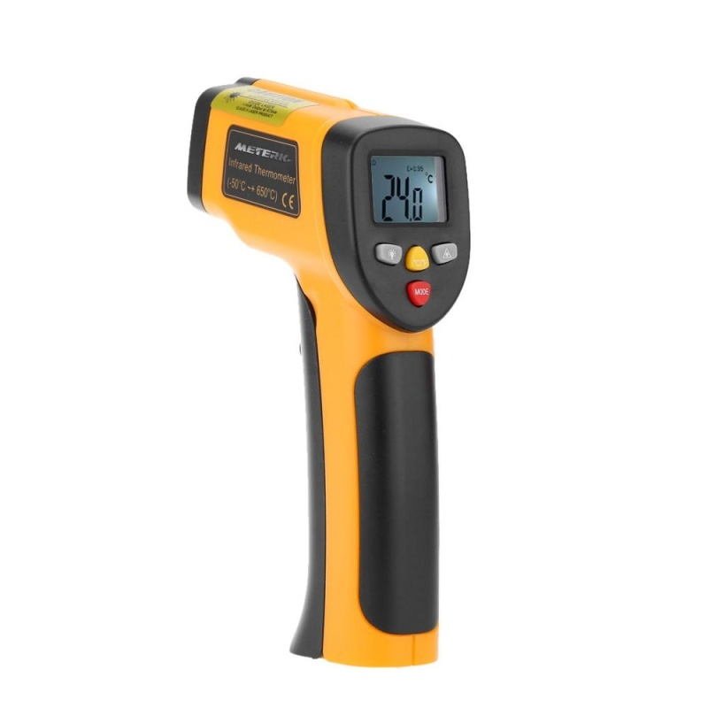 Bảng giá Meterk High Precision Non-contact IR Digital Infrared Thermometer Temperature Tester Pyrometer Range -55~650�C(-58~1202�F) - intl