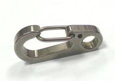 Móc treo chìa khóa Prudential Village Flat Gate Clip 33mm (Bạc)