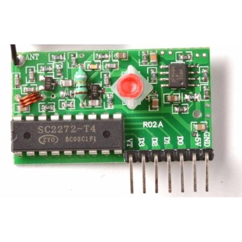 Bảng giá Module Thu RF 315Mhz T4 Có Anten