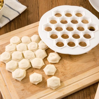 Moonar Creative Dumpling Making Machine Jiaozi Maker Kitchen Tool -intl