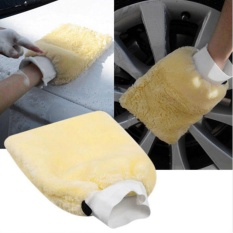 Moonar Soft Microfiber Plush Car Washing Glove Cleaning Tools - intl