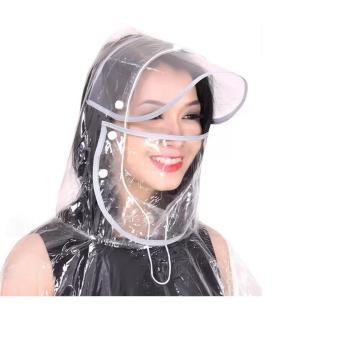 MQ Áo mưa vi sinh trong suốt có khẩu trang