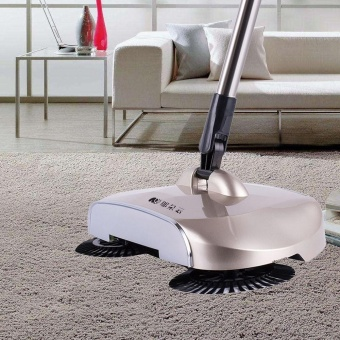 New Arrival 360 Rotary Home Use Magic Manual Telescopic Floor Dust Sweeper - intl