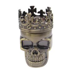 NEW Cool King Skull Tobacco Herb Spice Grinder Crushe 01 (Intl) - intl