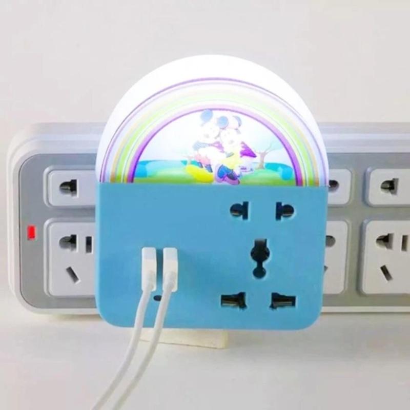 Bảng giá Ổ 3 chạc tích hợp đèn LED đa năng 3 trong 1