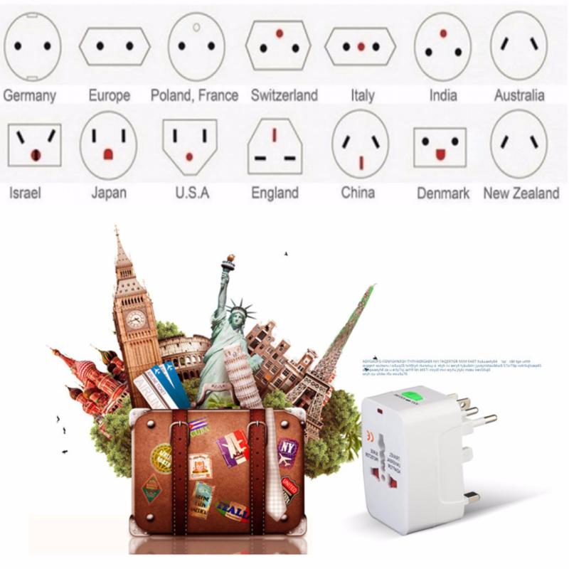 Bảng giá Mua Ổ Cắm Đa Năng Du Lịch, Dã Ngoại Nhiều Chuẩn Đầu Cắm - Travel Adapter