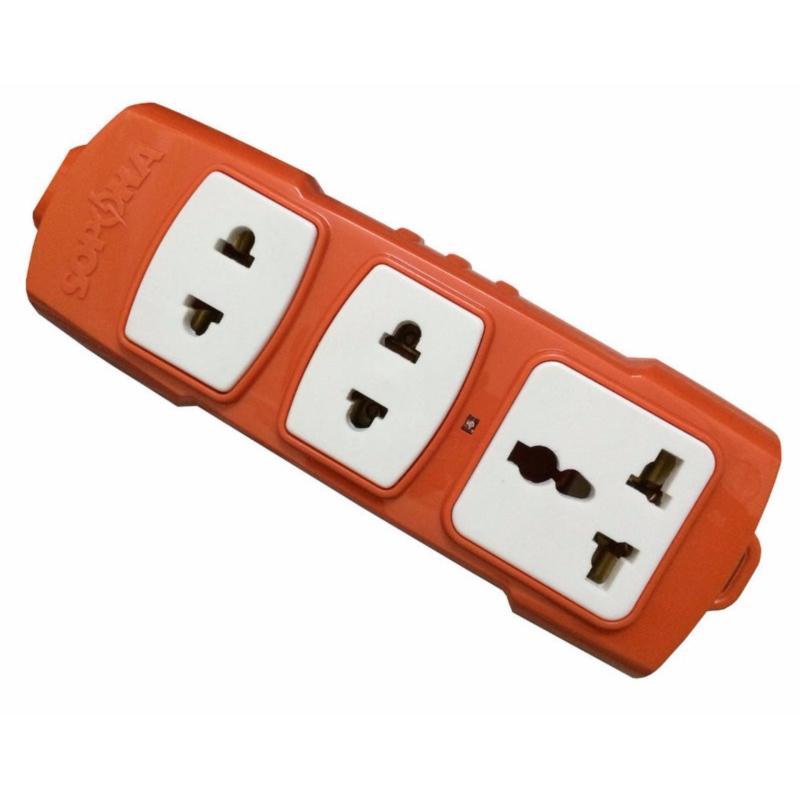 Bảng giá Mua Ổ cắm điện công suất cao 3 ổ cắm SOPOKA T3