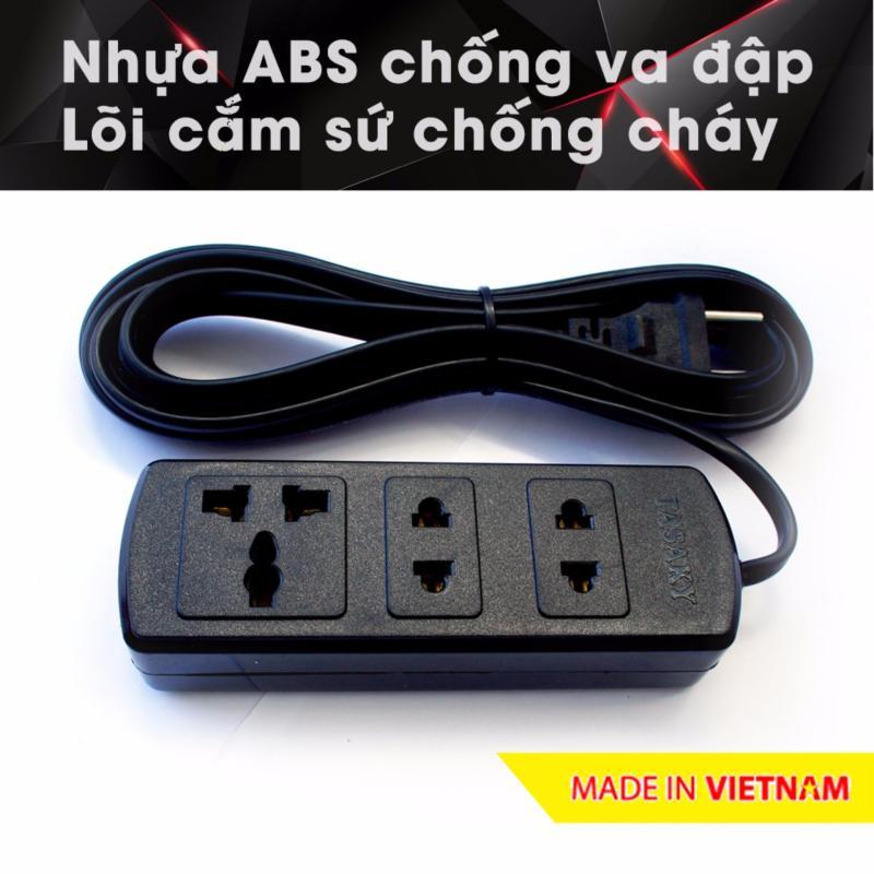Bảng giá Mua Ổ cắm điện công suất cao chuyên cho bếp điện từ, nhựa ABS, 4.5m 3A5 (Đen)