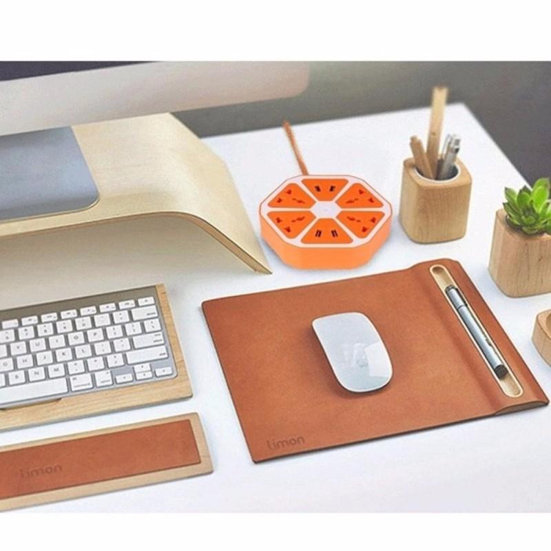 Bảng giá Ổ cắm điện đa năng hình trái cam với 4 cổng USB