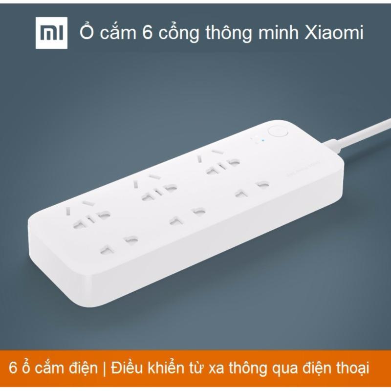 Bảng giá Mua Ổ cắm điện Xiaomi điều khiển qua SmartPhone 6 ổ cắm