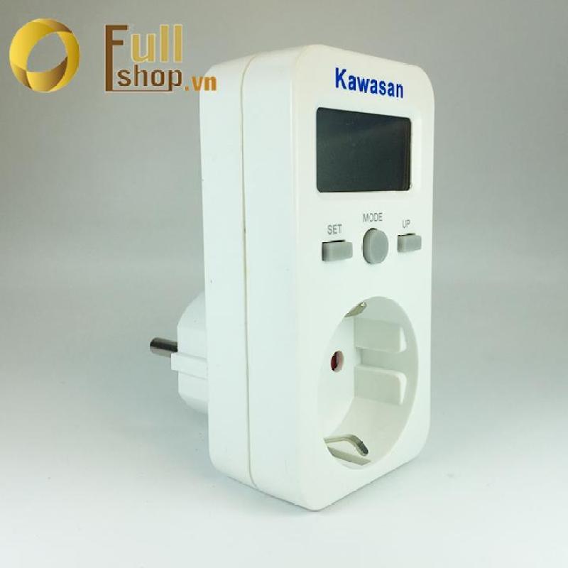 Ổ cắm đo điện năng tiêu thụ, đo công suất đa năng Kawa Kw - EN106