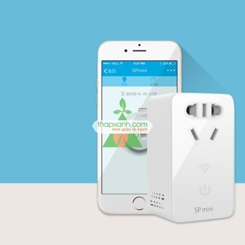 Bảng giá Mua Ổ cắm thông minh điều khiển qua wifi (SP mini)