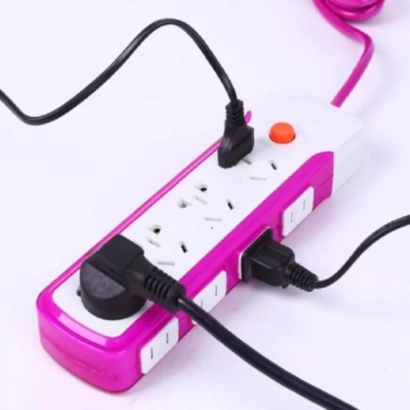 Bảng giá Mua Ổ điện chống giật 16 lỗ(trắng đỏ)
