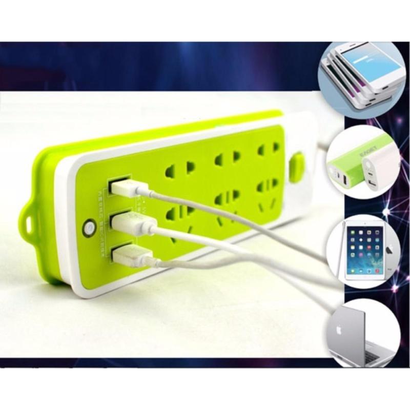 Bảng giá Ổ điện đa năng - 3 đầu cắm USB KHGR.1130