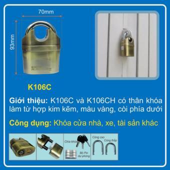 Ổ khóa báo động - chống cắt  Kinbar K106C