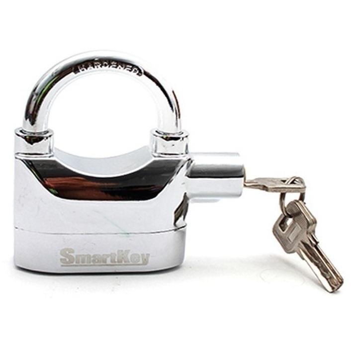 Ổ khóa báo động chống trộm Smartkey (Trắng)