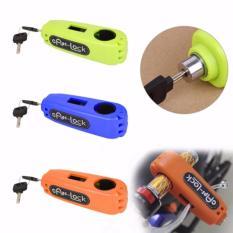 Ổ khóa chống trộm cho xe máy Caps Lock - khóa tay ga và tay phanh an toàn