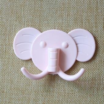 OJ elephant hanging nail free glue hook - intl