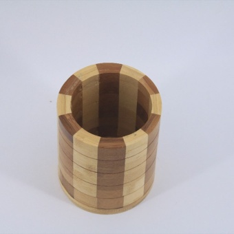 OJ wood wood pen holder - intl