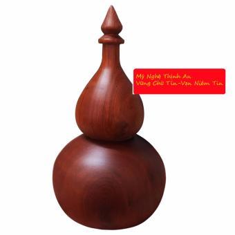 Ống tăm gỗ hương ta đỏ hình hồ lô cao cấp loại lớn OT03