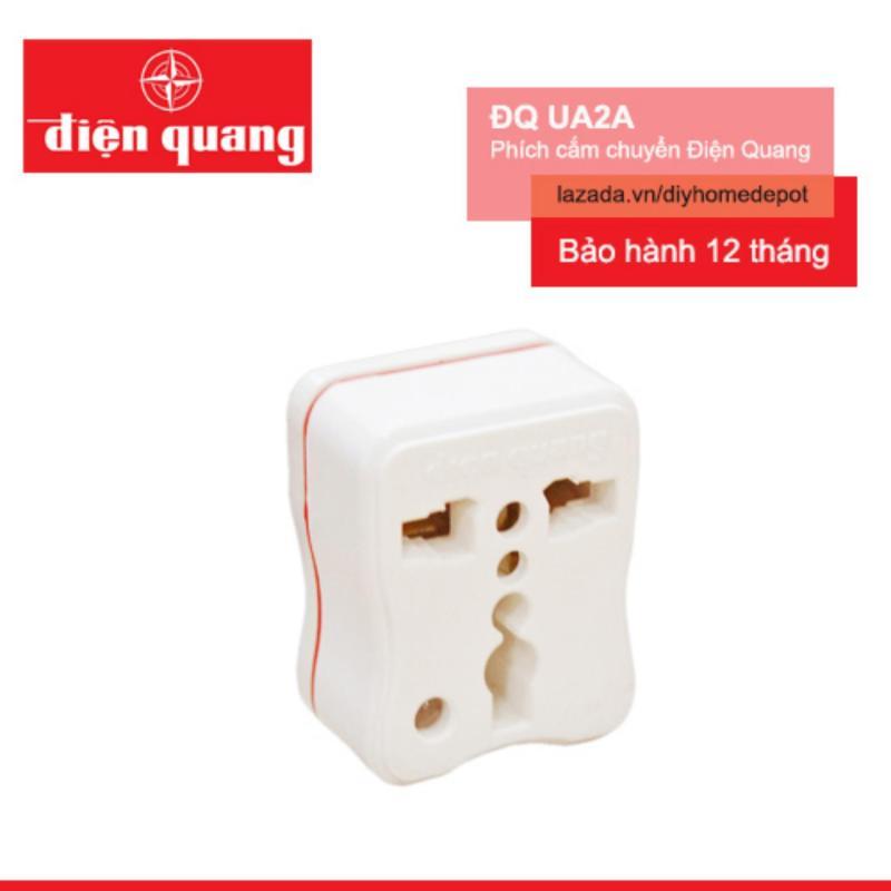 Bảng giá Mua Phích cắm chuyển Điện Quang ĐQ UA2A (Trắng)