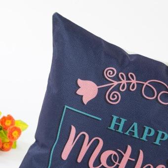 Pillow Sofa Waist Throw Cushion Cover Home Decor Cushion Cover Case - intl