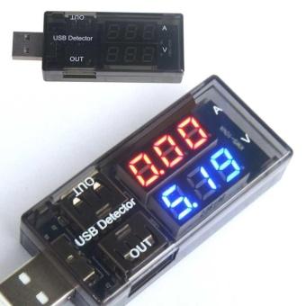 Portable USB Battery Doctor Mobile Power Detector Tester VoltageCurrent Meter - intl