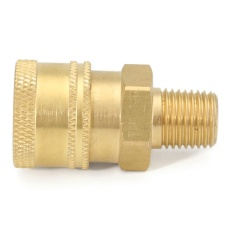 Pressure Washer 1/4 Male (NPT) Brass Quick Connect Coupler - intl