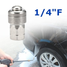 Pressure Washer Drain Cleaning Rotary Nozzle 1/4F B.S.P 3 Rear Jets Size 06 - intl