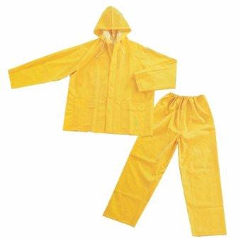 Quần áo mưa màu vàng(Vàng)